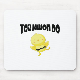 Tae Kwon Do chick Mouse Pad