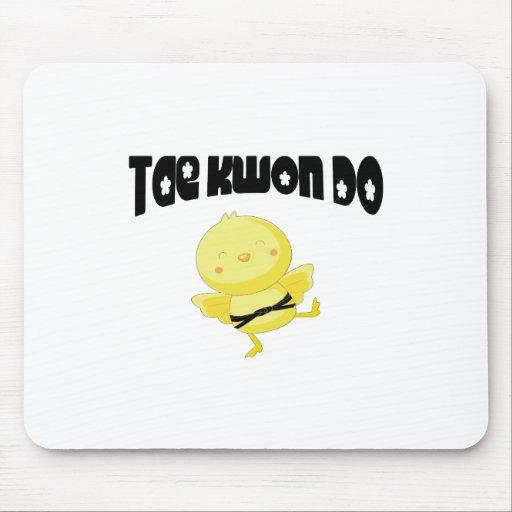 Tae Kwon Do chick Mousepad