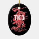 Tae Kwon Do Dragon Ornament