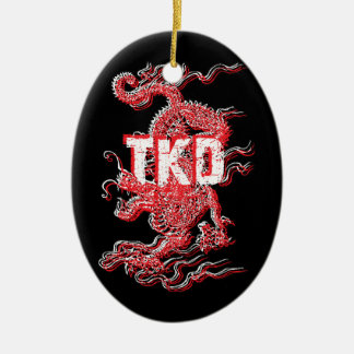 Tae Kwon Do Dragon Ornament