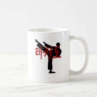 tae kwon do Gunge Kanji Hanjan Tee Classic White Coffee Mug