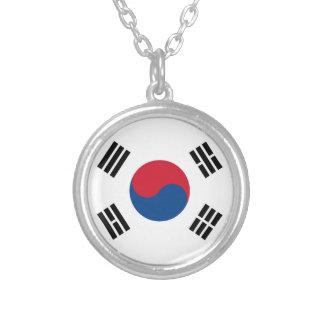 Taegukgi (South Korea Flag) Necklace