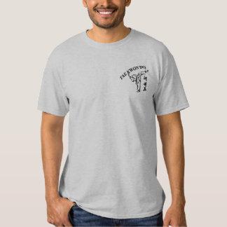 taekowndo embroidered T-Shirt
