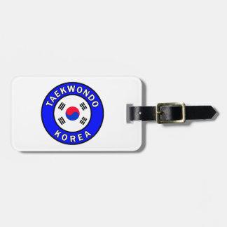 Taekwondo Bag Tag