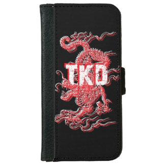 Taekwondo Dragon iPhone 6 Wallet Case