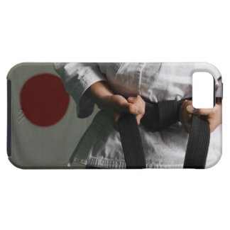 Taekwondo Fighter Tightening Belt iPhone 5 Case