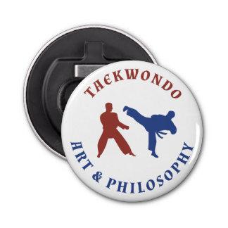Taekwondo Red and Blue Stamp