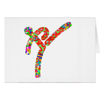 TAEKWONDO Sports Championship Greeting Card