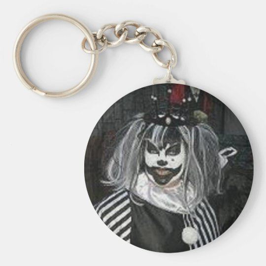 Taffy the Klown key chain