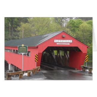 Taftsville Covered Bridge Vermont Greeting Card