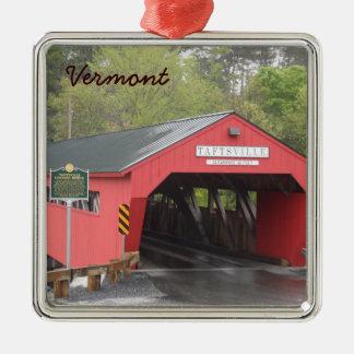 Taftsville Covered Bridge, Vermont Christmas Ornament