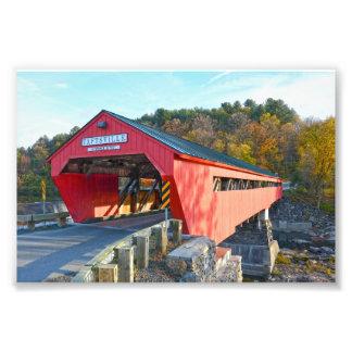Taftsville Covered Bridge, Vermont Photo