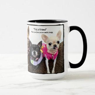 Tag a friend mug