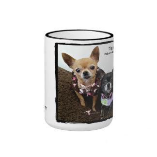 Tag a friend ringer mug