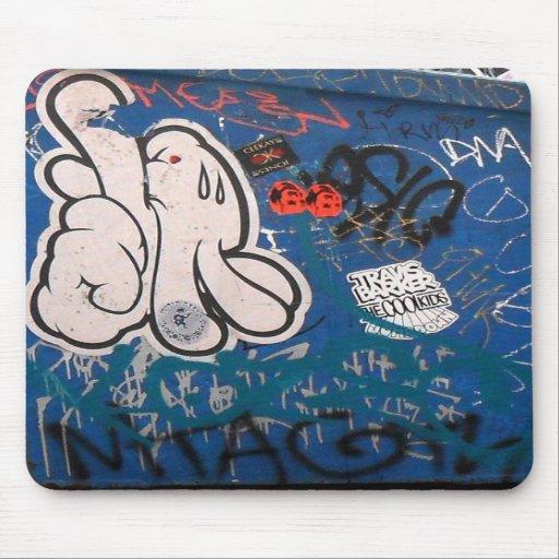 """Tag"" Graffiti Mouse Pad"