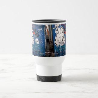 """""""Tag"""" Graffiti Coffee Mugs"""