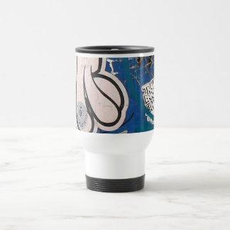 """""""Tag"""" Graffiti Travel Mug"""