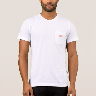 Tag Process Service Men's American Apparel Pocket T-Shirt