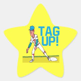 Tag Up Star Sticker