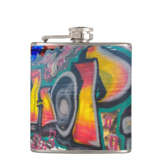 Tag Wall Hip Flask