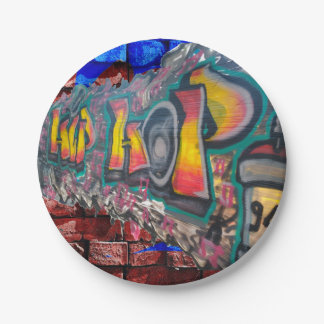 Tag Wall Paper Plate