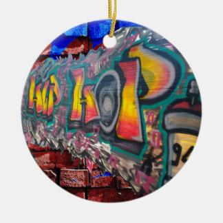 Tag Wall Round Ceramic Decoration
