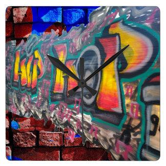 Tag Wall Wallclock