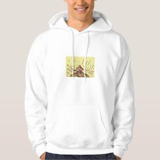 Tagaloa Releasing Bird Plover Earth Woodcut Sweatshirts