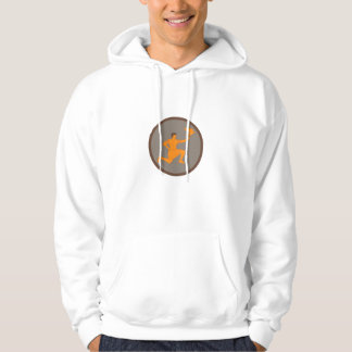 Tagaloa Releasing Plover Bird Circle Retro Hoodie