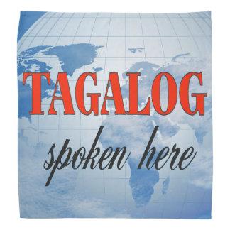 Tagalog spoken here cloudy earth kerchief