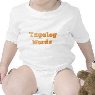 Tagalog Words Tshirts
