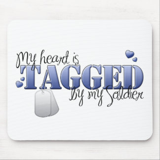 Tagged Mouse Pad