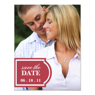 Tagged Save the Date Announcement