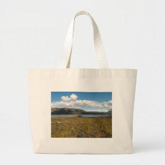 Tagish Lake Vista Canvas Bags