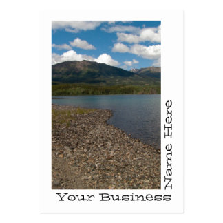 Tagish Shoreline Pack Of Chubby Business Cards