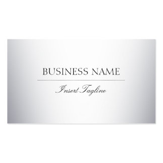 Tagline Gradient Pack Of Standard Business Cards