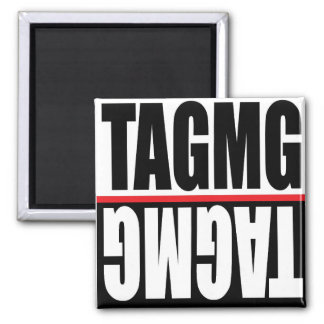 TAGMG Magnet (squared)
