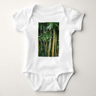 Tags on tree's baby bodysuit