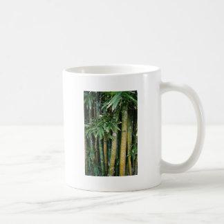 Tags on tree's basic white mug