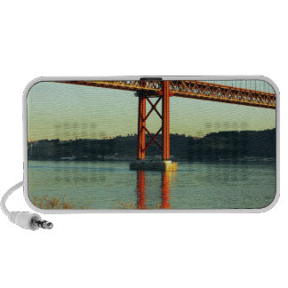 Tagus bridge, Lisbon, Portugal Mp3 Speakers
