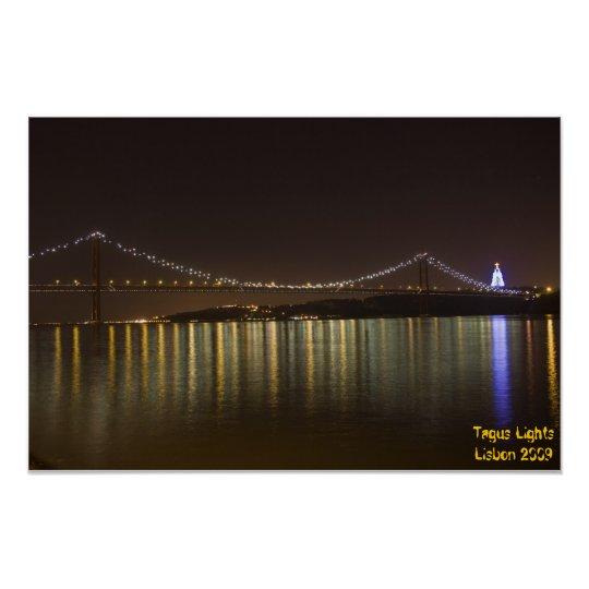 Tagus Lights Poster