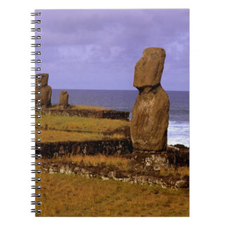 Tahai Platform Moai Statue Abstracts Easter Notebooks