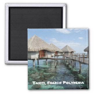 Tahiti, French Polynesia Square Magnet