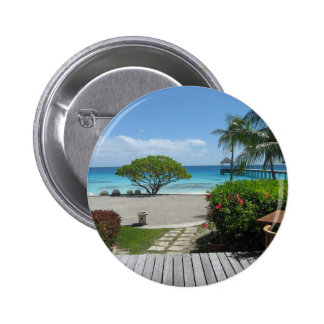 Tahiti Getaway 6 Cm Round Badge