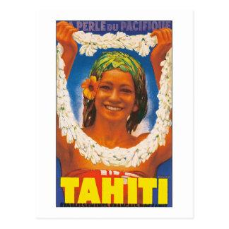 Tahiti La Perle du Pacifique Postcards
