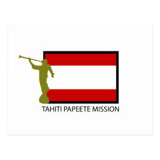 TAHITI PAPEETE MISSION LDS CTR POST CARD
