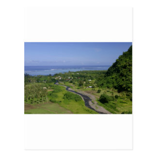 Tahiti paradise tropical island post cards