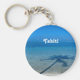 Tahiti Reflections Key Ring
