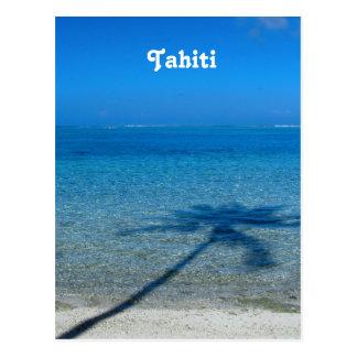 Tahiti Reflections Postcard