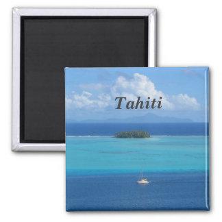 Tahiti Square Magnet